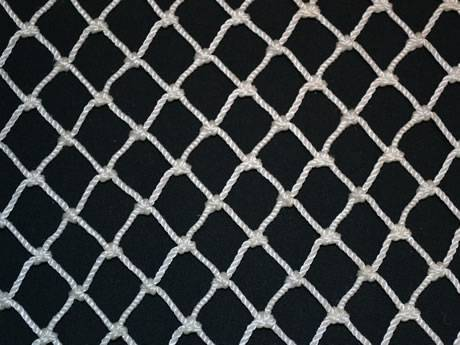 2in HEAVY KNOTTED NET 50/' x 50/'